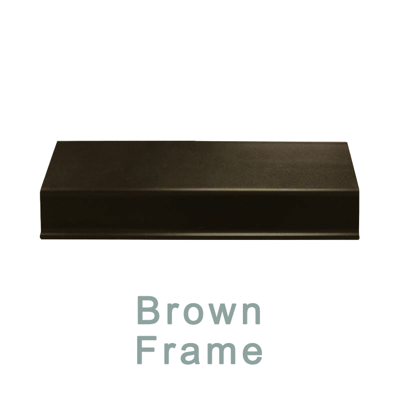 7. Brown Perfect Fit Frame